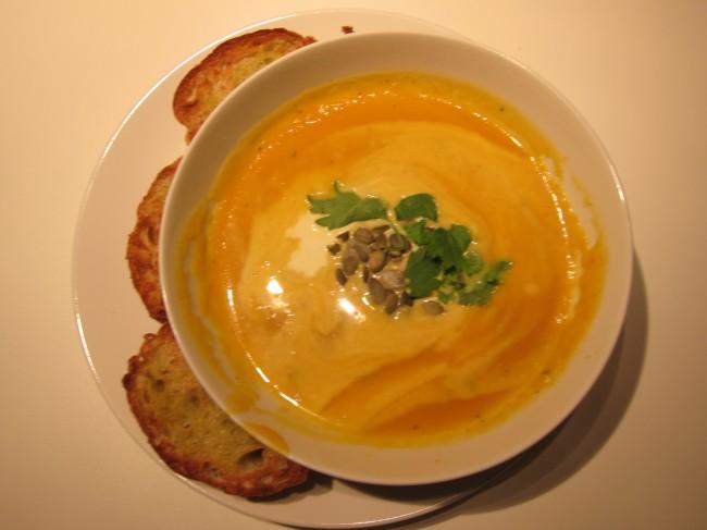 My special pumpkin soup