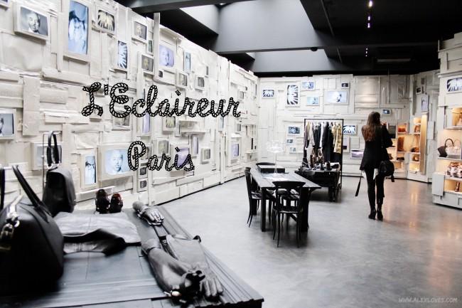 Boutique Love: L'Éclaireur, Paris