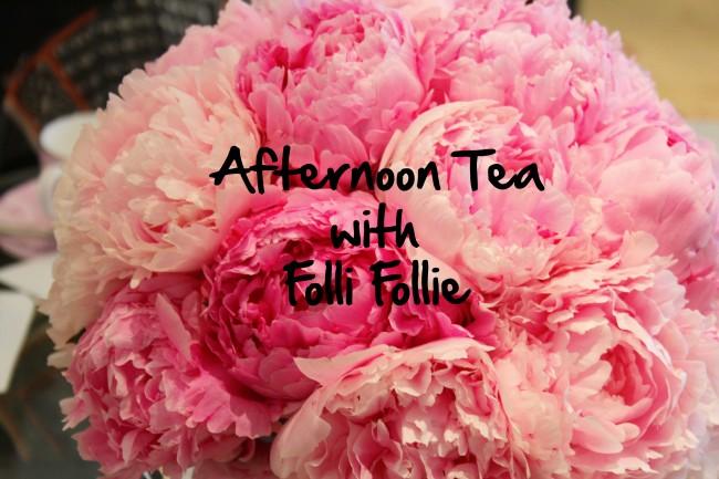 Afternoon Tea with Folli Follie