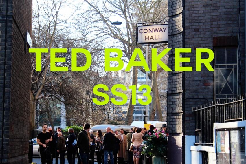 Ted Baker SS13 ©www.alexloves.com