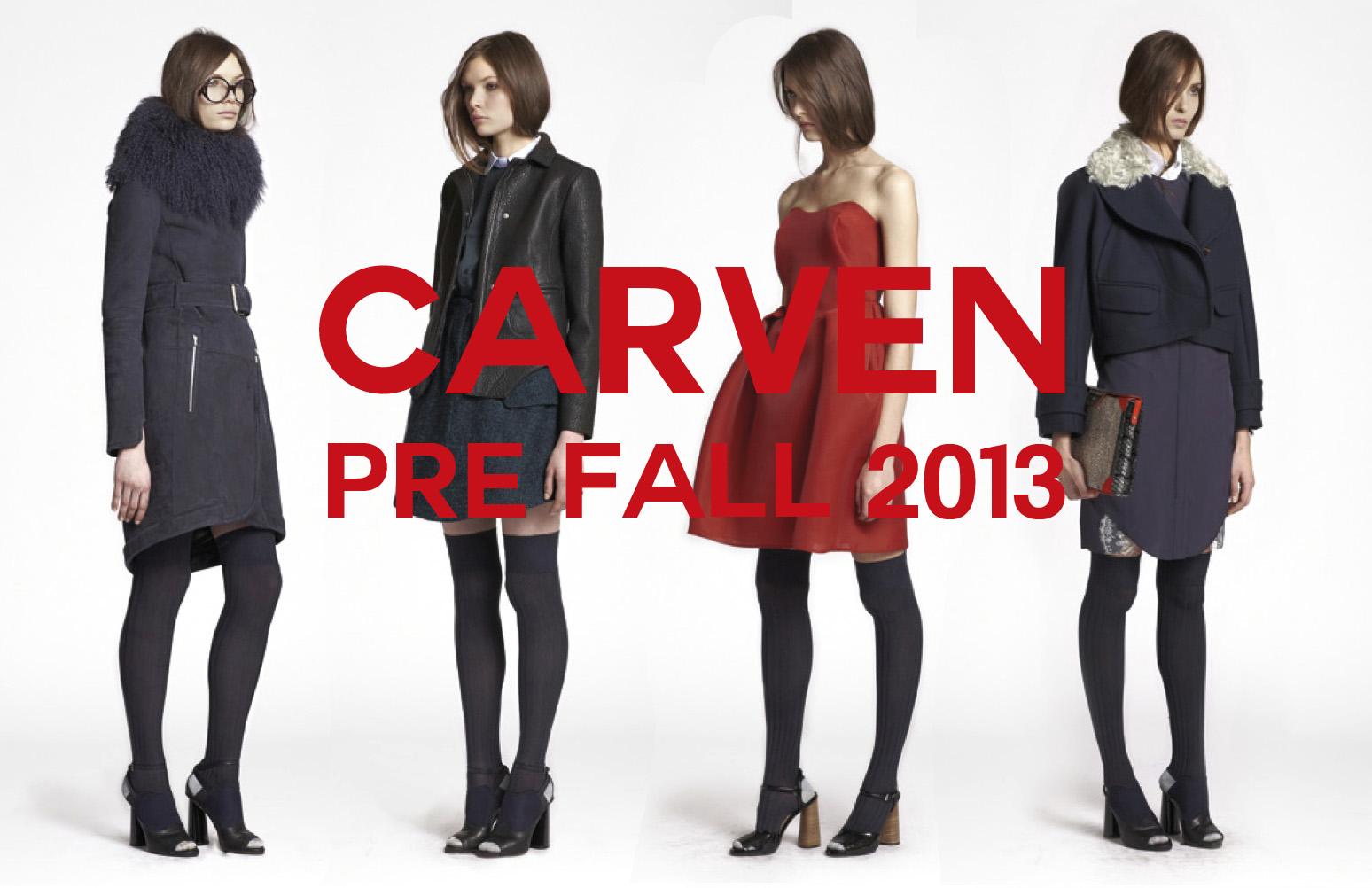 CARVEN PRE FALL 2013