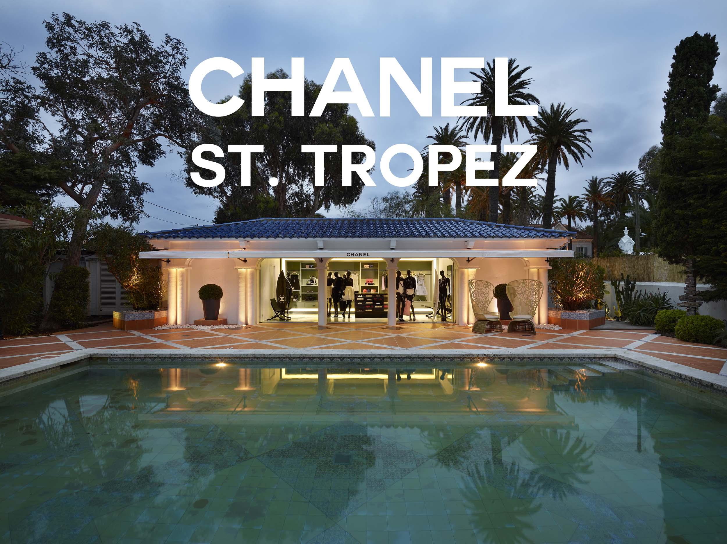 chanel pops up in st tropez alex loves. Black Bedroom Furniture Sets. Home Design Ideas